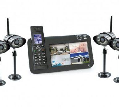 système de video surveillance sans fil avec camera nocturne